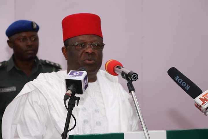 Gov Umahi gives prominence to capital expenditure in 2020 Appropriation Bill