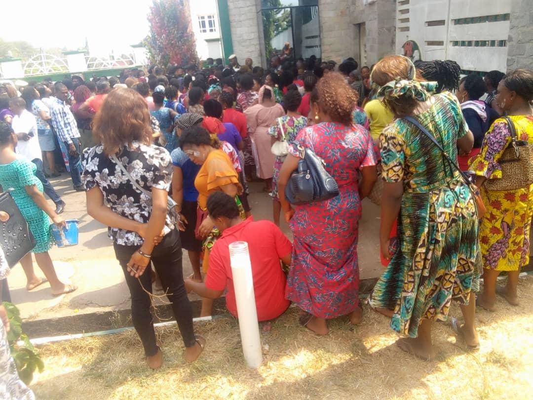 Women protest rocks Abakaliki over irregularities in market relocation