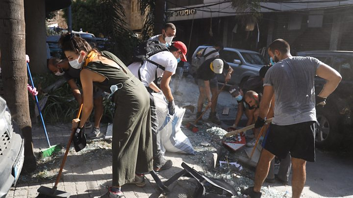 Beirut people accuse government of negligence over explosion