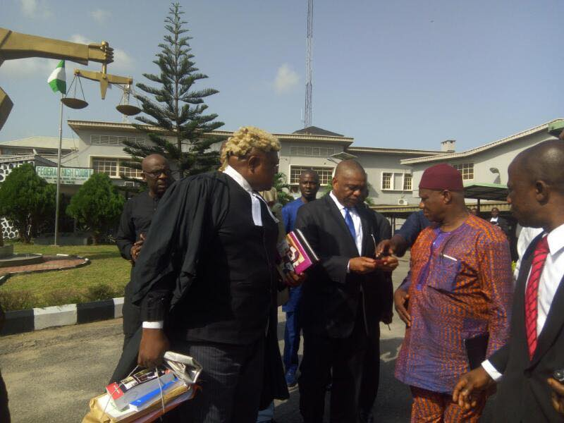 Retrial of Uzor Kalu begins in Abuja as counsel pleads for transfer